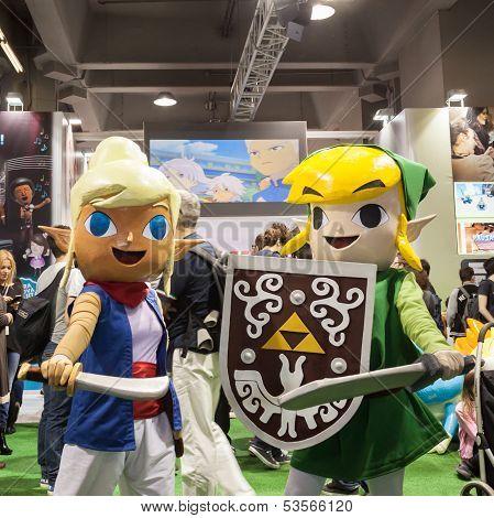 Cosplay At Games Week 2013 In Milan, Italy