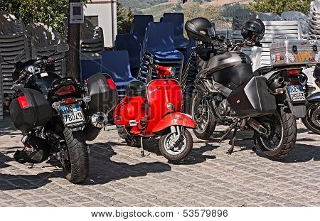 Little Red Vespa