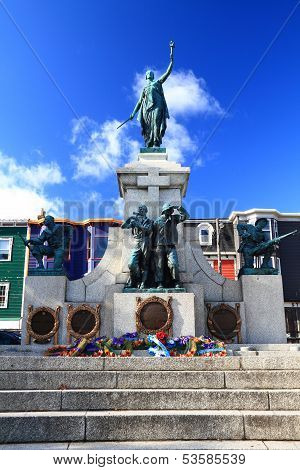 National War Memorial In Downtown St. John's Newfoundland Canada