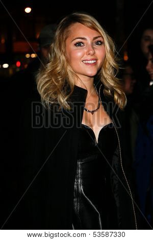 NEW YORK- NOV 6: Actress AnnaSophia Robb attends a screening of 'Thor' at the Crosby Street Hotel on November 6, 2013 in New York City.