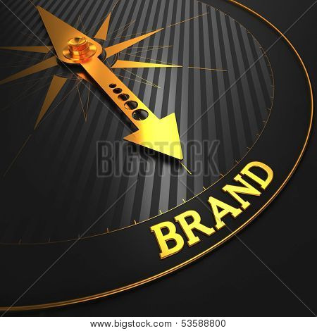 Brand. Business Concept.