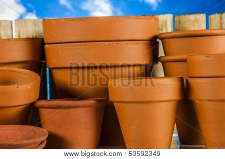 Garden work, rural decorative composition