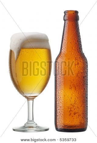 Beer With Bottle