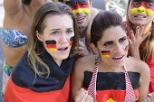 Group of German soccer fans concerned.