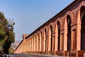 stock photo of arcade  - Portico di San Luca Bologna Iraly - JPG