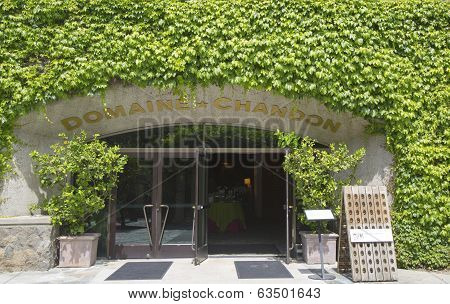 Domain Chandon Winery in Napa Valley