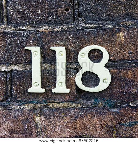 Number 118