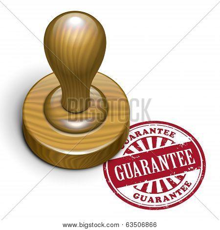 Guarantee Grunge Rubber Stamp