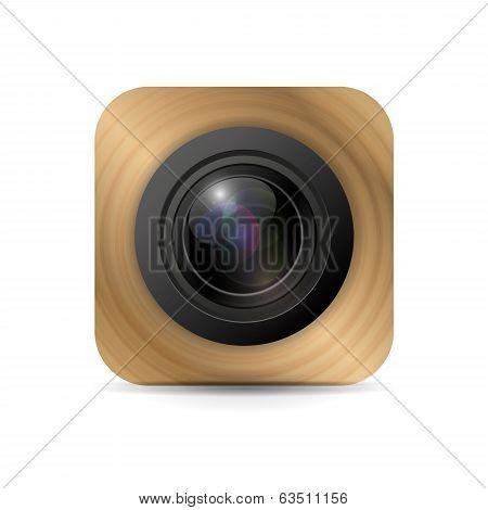 Vector camera application icon