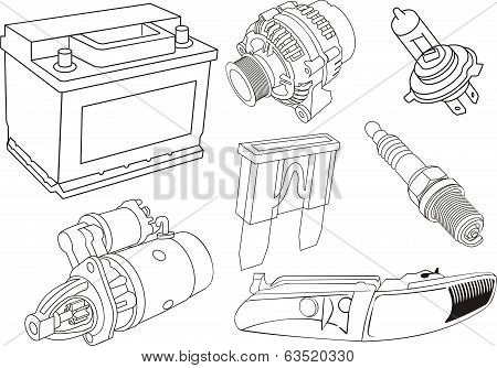 Car Electrical Parts