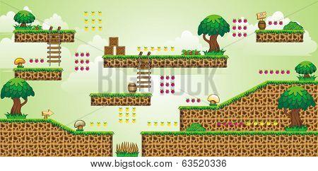 2D Tileset Platform Game 48.eps