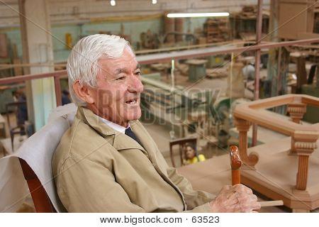 Carpenter Having A Break