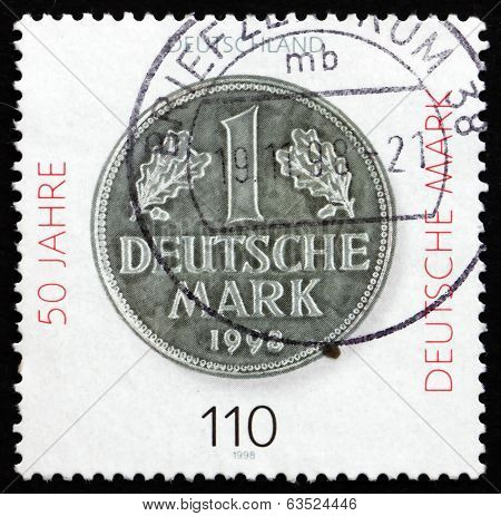Postage Stamp Germany 1998 Deutsche Mark
