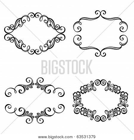 Decorative Ornamental Frame for Text