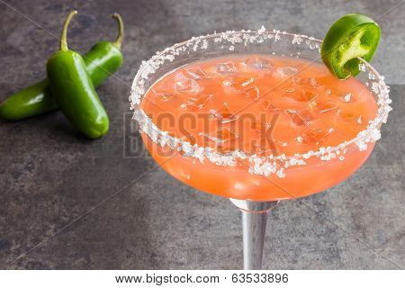 Guava Jalapeno Margarita