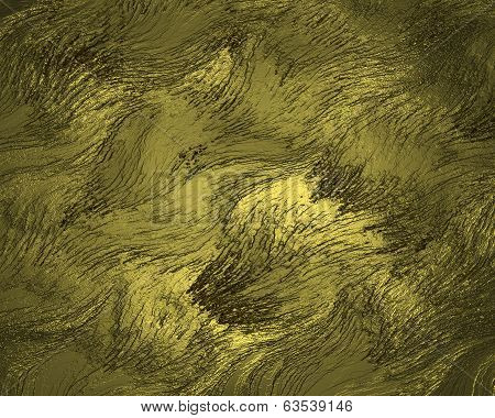 Grunge Golden Texture.