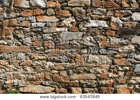 Rubble Rock Wall