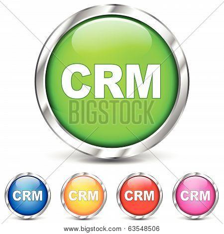 Vector Crm Chrome Icons