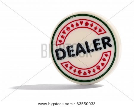 Dealer Poker Chip