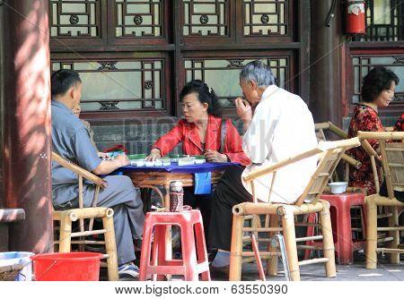 Mahjong Chinese life