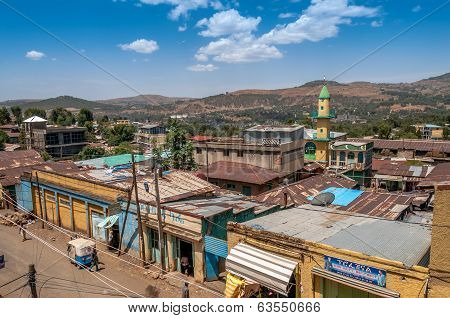 View At The Gondar City.