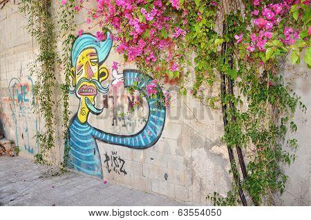 Graffiti In Jaffa