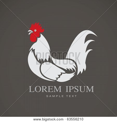 Vector Image Of A Chicken