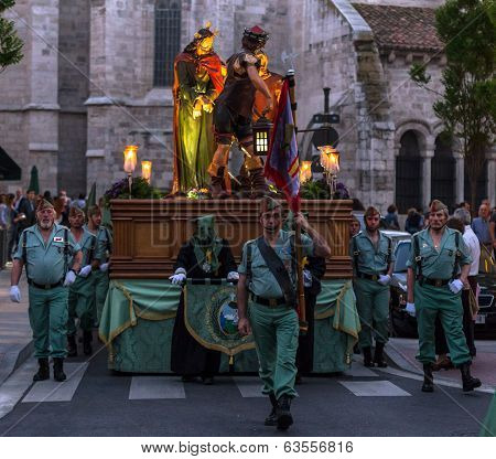 Valladolid Good Friday Night 2014 01