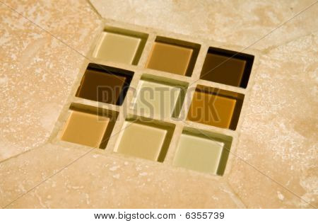 Glass Tile Insertion