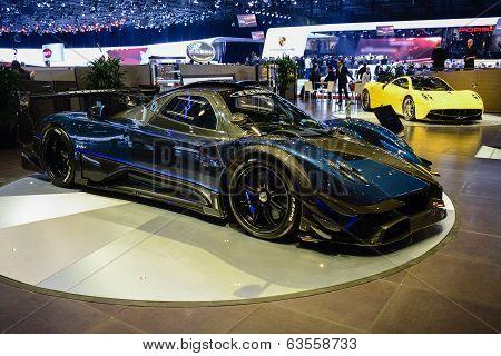 Pagani Zonda Revolucion At The Geneva Motor Show
