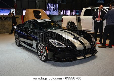 Dodge Viper At The Geneva Motor Show