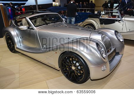 Morgan Aero Coupe At The Geneva Motor Show