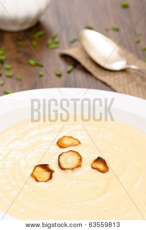 Parsnips With Cream Soup