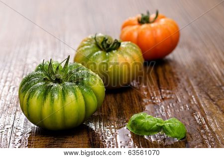 Italian Tomatoes With Basil