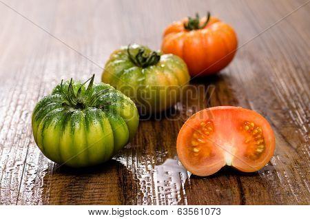 Bovine Heart Tomatoes Coure Di Bue