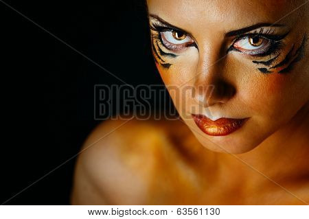 Girl Tigress