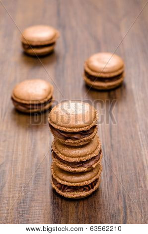 Macarons Cocoa And Chocolate3