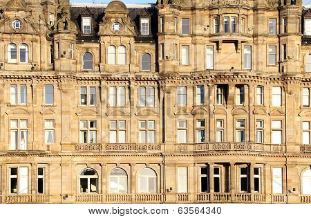 Architectural detail in Edinburgh, Scotland