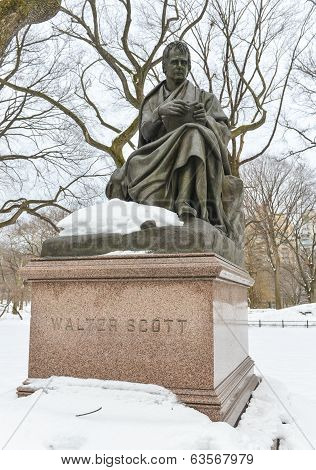 Walter Scott, Central Park, NYC