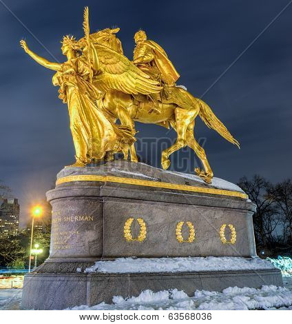 William Tecumseh Sherman Memorial, New York