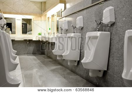 Interior Design Of Men's Toilet