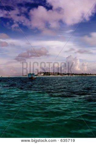 Dhoni Boat  Indian Ocean