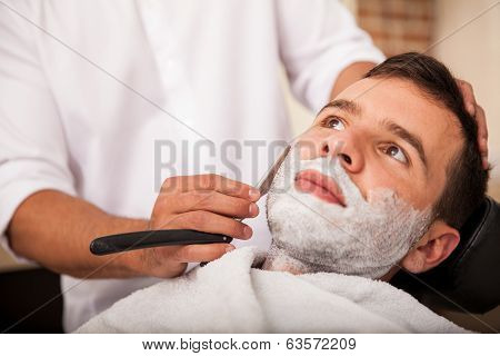Getting A Close Shave