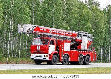Kamaz Fire Ladder