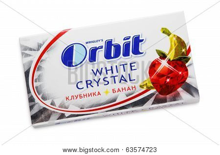 Chewing Gum Orbit White Crystal