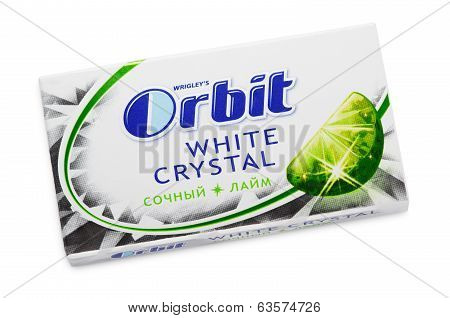 Chewing Gum Orbit White Crystal Lime