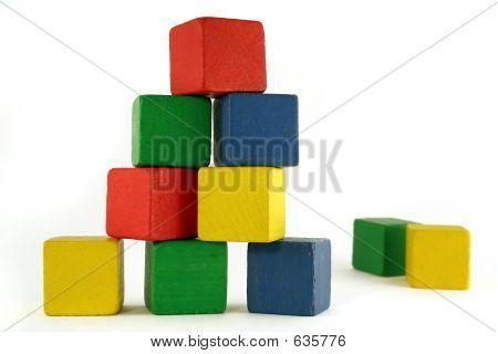 Block-Gebäude