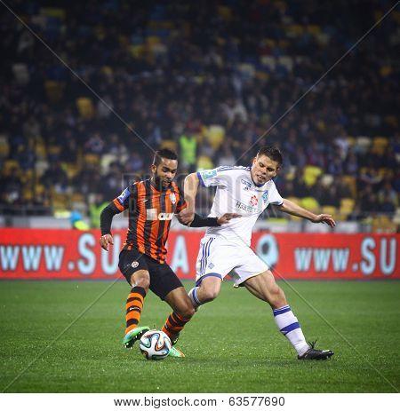 Football Game Fc Dynamo Kyiv Vs Shakhtar Donetsk