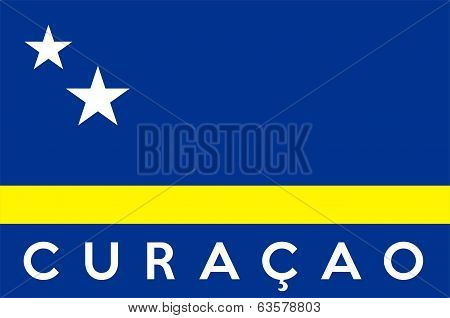 Flag Of Curacao