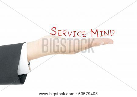 Service Mind Concept